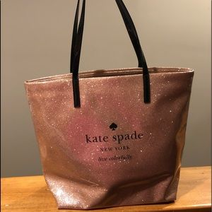Kate spade holiday drive in rose gold